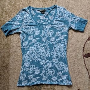 Eddie Bauer Floral Shirt